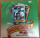 1990 TOPPS BASEBALL WAX PACK BOX NEW OLD STOCK FACTORY SEALED NO WAX TYPE WRAP