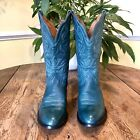 Ariat Turquoise Teal Leather Western Boots 75B