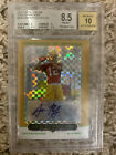 Aaron Rodgers 2005 Topps Chrome Gold Xfractor 399 BGS 8.5 Auto BGS 10.