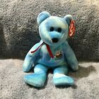 Santa Maria The Ty Store Exclusive Bear Ty Beanie Baby Mint With Mint Tags