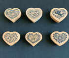 PSX MINI HEARTS COLLECTION BUTTERFLY HUMMINGBIRDFLOWERS CUPID NEW NLA