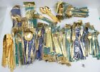 Group GOLDEN WARE 23 K Gold Electroplated Flatware 57 Pieces Rose Pattern Bagged