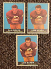 1961 Topps Football Cards 13