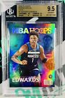 2020-21 NBA Hoops Anthony Edwards #RS-1 Rookie Special HOLO RC BGS 9.5