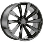 4 TSW Aileron 21x9 5x112 +37mm Gunmetal Wheels Rims