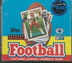 1989 TOPPS FOOTBALL CELLO (2) BOX UNOPENED & (1) 36 PACK TOPPS BOX UNOPENED