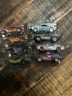 HOT WHEELS Loose Lot Of 8 HW Flames Mustang T Hunt 67 Camaros Merc Cougar