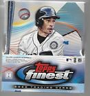 2020 Topps Finest Baseball Hobby box factory direct sealed 2 minis box 2 autos