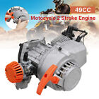 Pull Start Engine For 49cc 2 Stroke Motor Pocket Mini Quad ATV Dirt Scooter US
