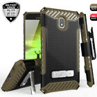 For Samsung Galaxy J7 Star Crown V 2018 Phone Case Metal Stand Holster Cover