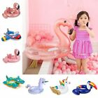 Baby Inflatable Circle Flamingo Float Swimming Ring Unicorn Pool Water Toys