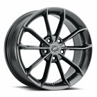 4 Platinum 457GM Revelation 17x8 5x120 +35mm Gunmetal Wheels Rims 17 Inch