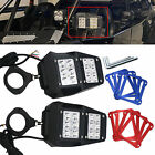 Rear View Mirror Kit UTV Side Mirrors 175 2 Clamp Roll Cage For Polaris RZR