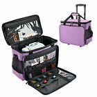 Detachable Sewing Machine Storage Bag Tote Case Trolley Rolling Wheels Portable