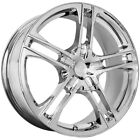 17 Inch Verde V36 Protocol 17X7 4x100 4x1143 +40mm Chrome Wheel Rim
