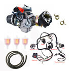 GY6 150cc Electric Wiring Harness  Carburetor Kit For 4 Stroke Go Kart Scooter