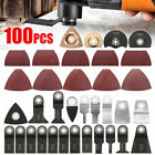 100 pcs Oscillating Multi Tool Saw Blades for Electric Tools Accessories Set