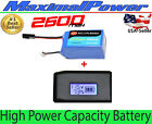 2600mAh High CAPACITY LiPo Battery + LCD Charger For PARROT ARDRONE 20  10