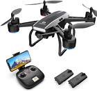 DEERC D50 Drone for Adults with 2K UHD Camera FPV Live Video 120 FOV 4MP Waypo