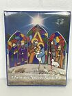 Nativity Scene Kit Stained Glass Look Baking Crystals Aaron Supply Eze Form NEW