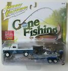 JOHNNY LIGHTNING GONE FISHING S2 1959 FORD F 250 w BOAT  TRAILER 3 A 1 2004