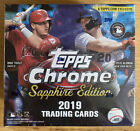 2019 Topps Chrome Sapphire Factory Sealed Box