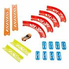 Hot Wheels Track Builder Pack Assorted Curve Parts Multi