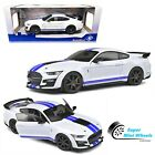 Solido 118 2020 Shelby Mustang GT500 Fast Track White Diecast Model
