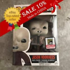 Funko Pop Jason Voorhees #202 Friday The 13th Exclusive Sticker MINT +Protector