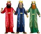 Wise Man Boys Costume Childs Christmas King Nativity Fancy Dress Kids Wiseman