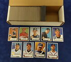 2001 TOPPS HERITAGE BASEBALL PARTIAL SET 250 487 MINT W SP's *253460
