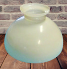 Old Large Lampshade Opal Glass Frosted Ancien Grand Abat Jour Verre Opalin Dpol