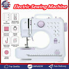 Portable Electric Sewing Machine Double Speed 12 Stitches Household Tailor US