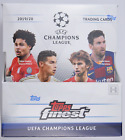 2019-20 Topps Finest UEFA Champions League Hobby Box