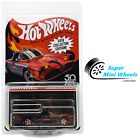 Hot Wheels RLC 2018 Collector Edition TV Series Batmobile Red with Protector