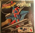 SPIDERMAN 1978 Energized Spider-Man Copter With Box. NEVER OPENED! 3 FREE COMICS