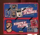 2013 Panini Triple Play Factory Sealed Box - 24 Packs - MIKE TROUT Relics