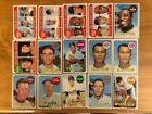 1969 Topps Baseball Lot Of 114 (Includes High Numbered Cards) See Numbers Below: