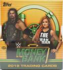 2019 TOPPS WWE MONEY IN THE BANK WRESTLING HOBBY BOX - 3 AUTOS GUARANTEED BOX