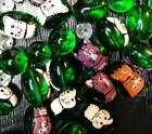 Bulk Lot Glass Beads Mix Color Cat Dog Pet Glass beads for jewelry making 5 lb