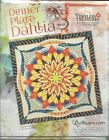 Quiltworx Dinner Plate Dahlia Paper Piecing Pattern Wall Quilt New
