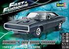 New Revell 125 Fast  Furious Dominics 70 Dodge Charger Car Diecast Model Kit