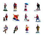Lemax  Village People Figurine  Village Accessory  Assorted  Resin  3 in.