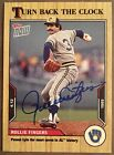 Signed Rollie Fingers 2021 Topps Now Turn Back The Clock #13 Auto Autograph HOF