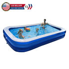 OVERSIZE Family Inflatable Swimming Pool Outdoor Garden Summer Kid Adult Pool US