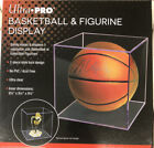 Ultra Pro Basketball Display Case Full Size Ball Holder Ultra Clear BRAND NEW