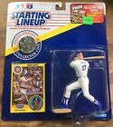 1991 Mark Grace Chicago Cubs Starting Lineup in pkg w/ Baseball Card & Coin