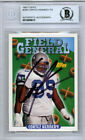 Cortez Kennedy Autographed Signed 1993 Topps Card #299 Seahawks Beckett 10009613