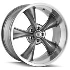 Staggered Ridler 695 Front17x7Rear17x8 5x475 +0mm Grey Wheels Rims