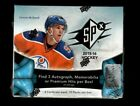 2015-16 Upper Deck SPx Factory Sealed Hobby Box Connor McDavid RC ?